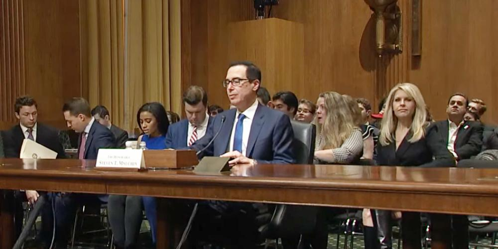 Treasury Secretary Mnuchin Gives Testimony on Cryptocurrency, New Regulations Rolling Out Soon